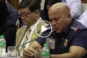 Lumambot si Bato! PNP chief Dela Rosa cries in frustration during Senate inquiry