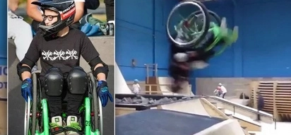 Meet Lily Rice: World's second female athlete to perform a wheelchair backflip