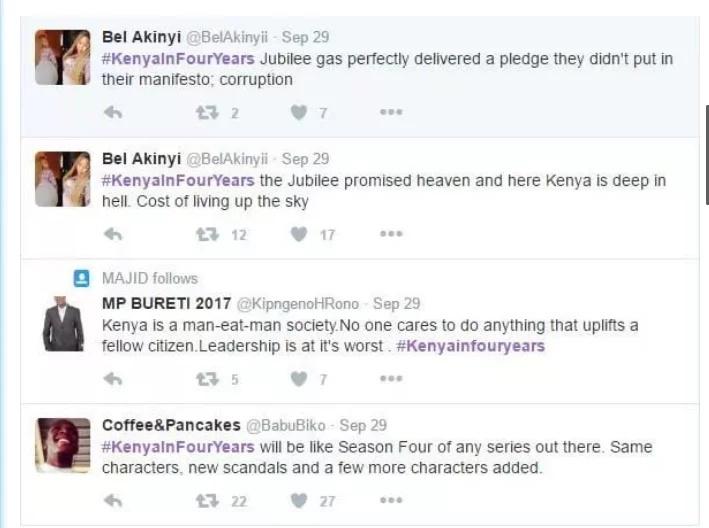 Wakenya wametamaushwa na Uhuru Kenyatta