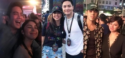 These 22 celebrities took the night off and were spotted having fun in Coldplay's concert