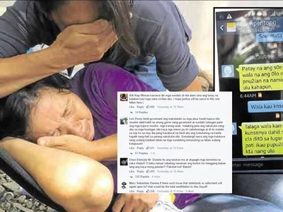 Netizens sympathize mother of beheaded soldier