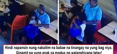 Walang konsensiyang ama! Netizens decry father caught on cam using daughter to accomplish his crime