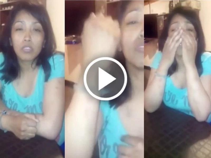 Grabó un video pidiendo ayuda para que no la maten