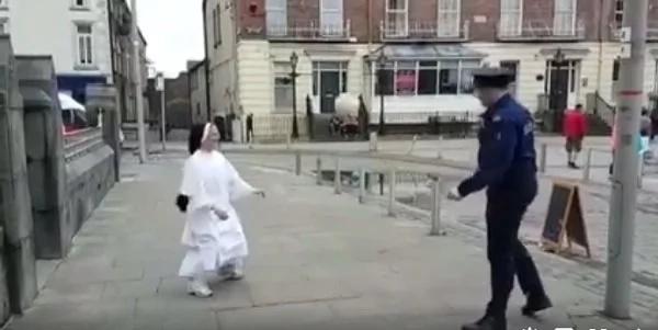 nun-stopped-police
