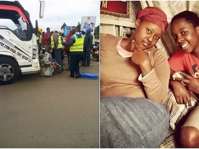 Mama Baha's nephew injured after being thrown out of speeding Rongai matatu