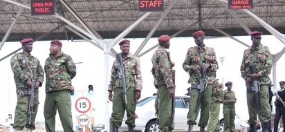 Heavy security at JKIA ahead of Raila Odinga's return