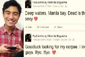 Pinoy teacher in Marikina goes missing after announcing his own death on Facebook