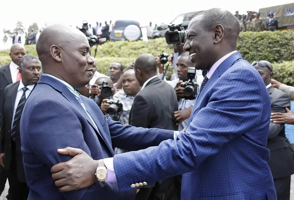 William Kabogo meets Kikuyu elders over Ruto remarks