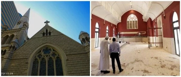 See mosque with Christian CROSS on top of its tower (photos)