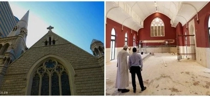 Mosque with CROSS on top! Church converted into ultimate house of prayer (see photos)