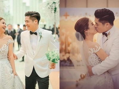 8 beautiful moments during Kaye and Paul Jake's wedding caught on camera