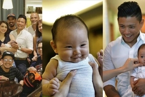 Ganap nang Kristyano! Iya and Drew's adorable baby Primo gets star-studded baptismal