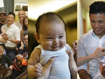 Ganap nang Kristyano! Iya and Drew's adorable baby Primo gets star-studded baptismal
