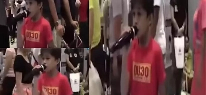 Young Pinoy sings 'Listen' like no other...and he's a fan of President Duterte too!