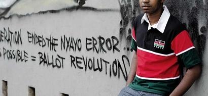 Mwanaharakati Boniface Mwangi atokwa na machozi akiwa kwenye runinga ya kitaifa, pata sababu