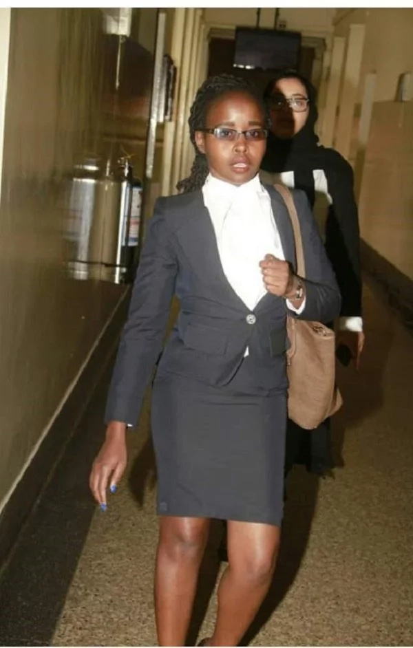 Meet the beautiful lawyer in Uhuru Kenyatta's high voltage legal team at the Supreme Court