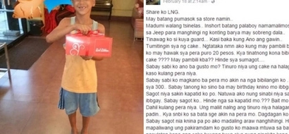 Viral Red Ribbon crew who buys a poor street kid birthday cake touches the hearts of netizens