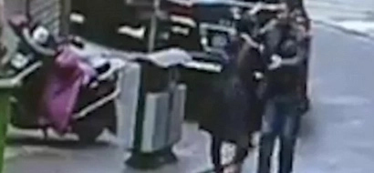 Brave woman chases robber who grabbed money from her hands for half an hour and tackles him