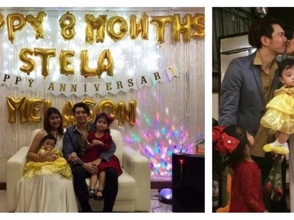 Star Magic Ball ang peg! Melai Cantiveros & Jason Francisco celebrate 4th wedding anniversary & baby Stela's 8th month