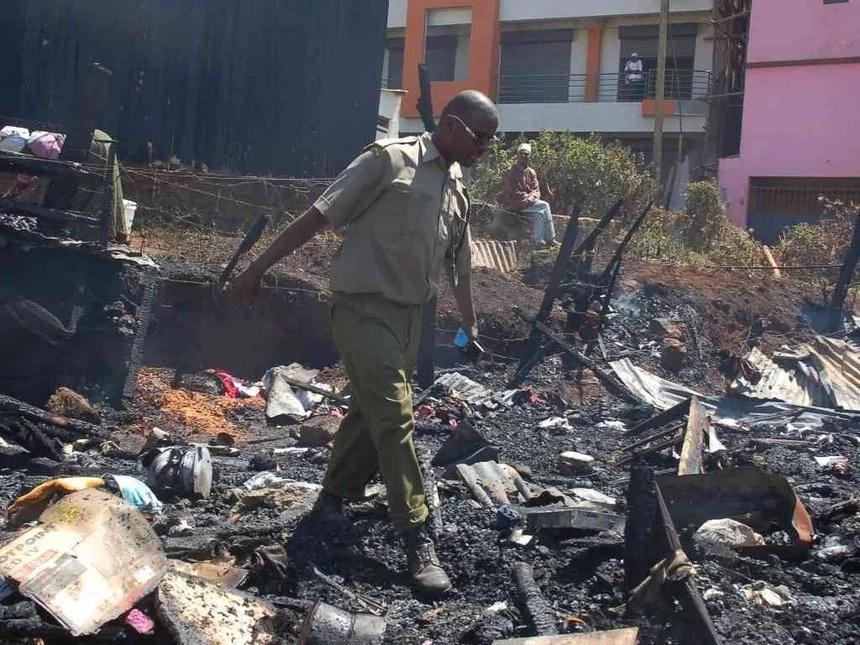 Tension as fire breaks in a Kenyan prison