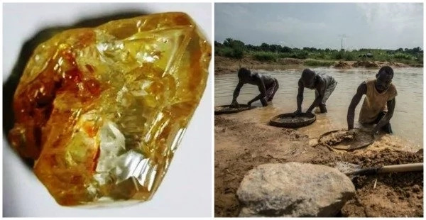 Christian pastor finds one of the world's largest uncut diamonds weighing 709 carats (photos)