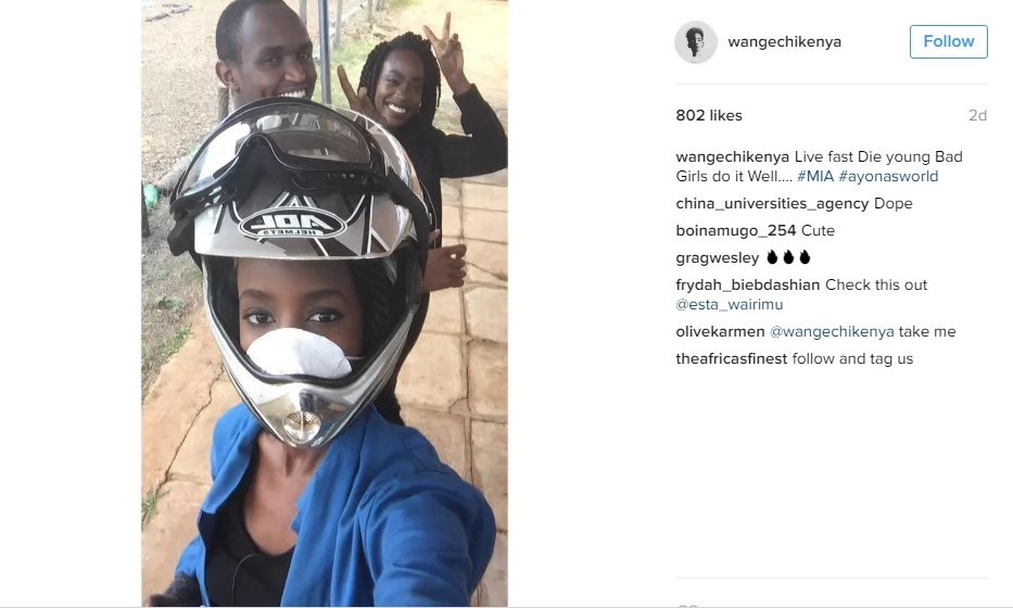 Rapper Wangechi posts a chilling update years after the nasty accident that killed her friend