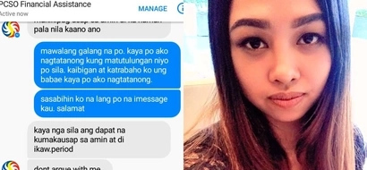 Poor concerned netizen gets cruelly mistreated by an alleged PCSO staff after seeking help for her friend's sick child