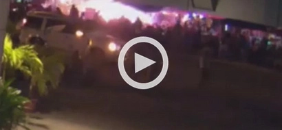 CAPTURED on video! Exact moment explosion happened in Davao City Night Market