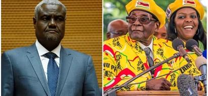 African Union reacts following Mugabe's resignation