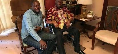 """Rais mstaafu Daniel Moi aonekana kwenye """"wheelchair"""" baada ya kutoweka kwa muda"""