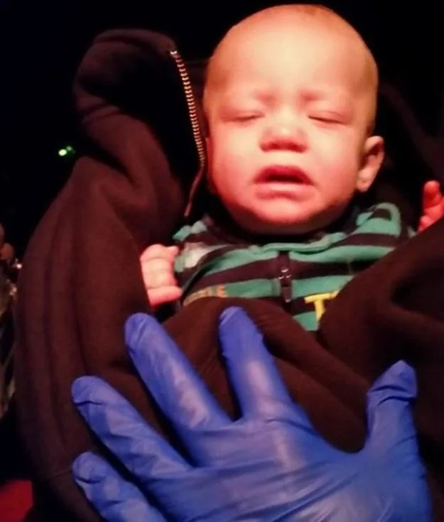 Nobody expected what this stranger could do to a 3-month-old abandoned in the grass