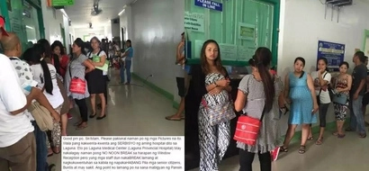 Ay malala naman pala! Netizen shares horrible experience in Laguna hospital