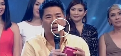 Kuya Wil in search of mysterious child who handed him a sealed gift backstage and disappeared suddenly