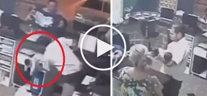 Real-life Pinoy superhero miraculously rescues helpless baby from brutal fall