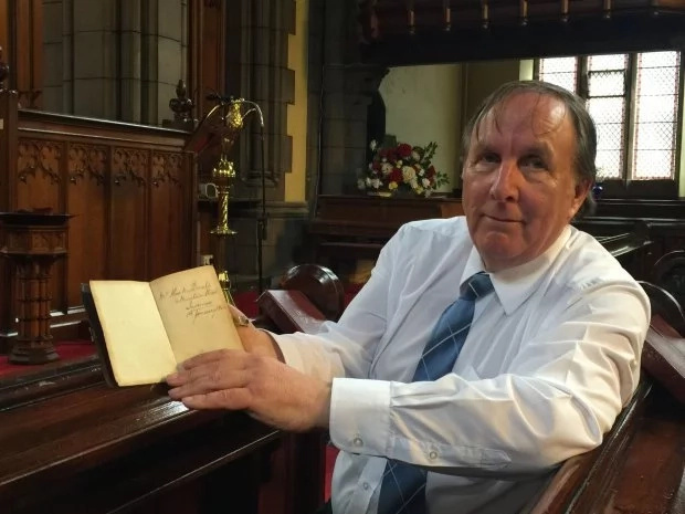 The long wait! 151-year-old Bible returned to rightful owner after a 3,500 mile journey