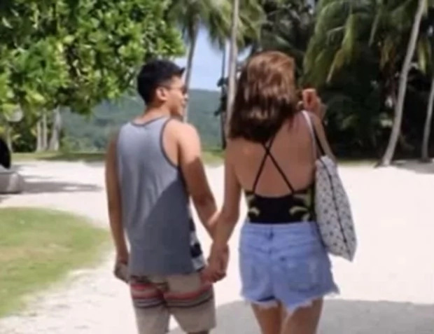 Bea Alonzo and Enchong Dee held hands at Pearl Farm, Davao