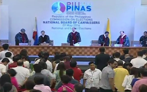 Senators, partylists proclamation: LIVE BLOG