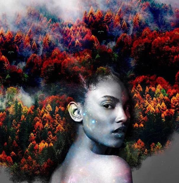 This artist glorifies natural beauty of African women