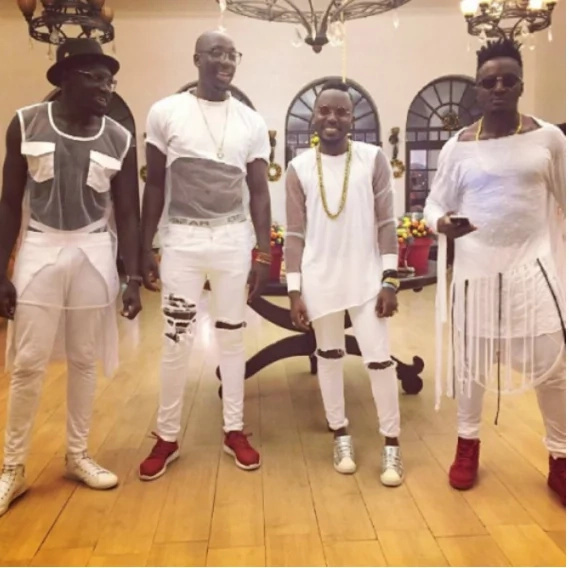 Sauti Sol give new statement after they accused Uhuru and his government of stealing from them