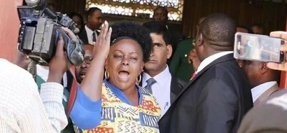 What you are not told about Uhuru Kenyatta's Christmas card to Millie Odhiambo after she abused him