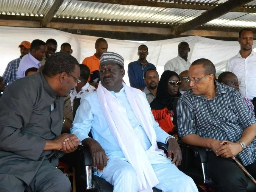 Raila's friend, Farah Maalim speaks on fight with Somali minister
