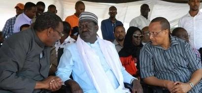 Raila's ally seriously beats up Somali official at a Nairobi hotel (video)
