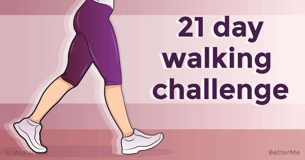 November 21 day walking challenge