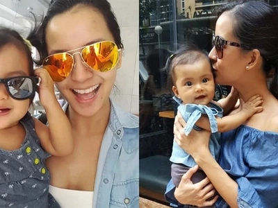 Bianca Gonzalez is mommy goals in her twinning outfits with baby Lucia