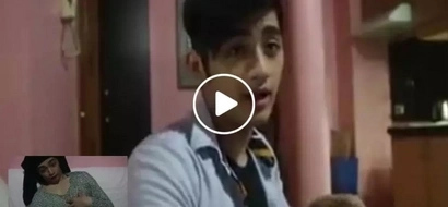 This handsome Pinoy explains what to tell your mom if you get a 'zero' in an exam...the twist in the end was shocking!