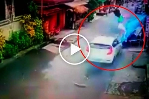 Pinoy driver loses control of Hyundai car, plows through 18 pedestrians in Lucban