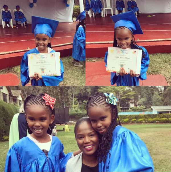 Grace Msalame's babies just graduated and her ex's new wife had lots to say