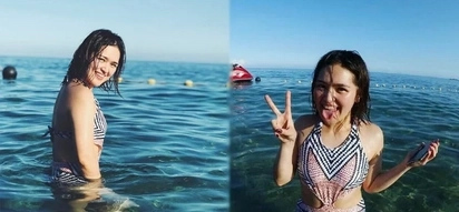Coleen Mendoza surprises netizens with her thinner figure in these swimsuits