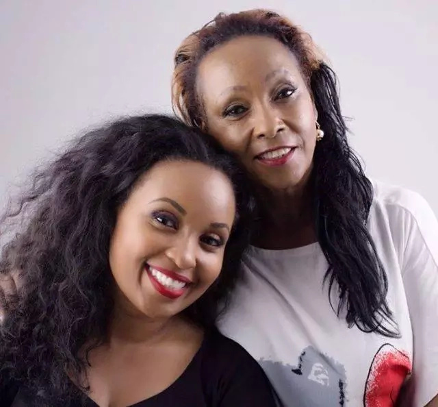 Photo: Sheila Mwanyigha's mother is a striking image of her daugher