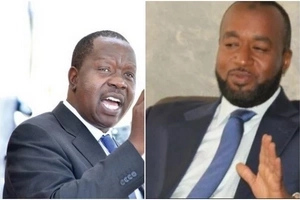Matiangi with a declaration that could SAVE Joho's gubernatorial ambitions